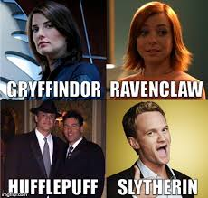 Harry Potter House Meme - himym hogwarts house imgflip