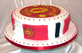 manchester united cake side view sensational cakes