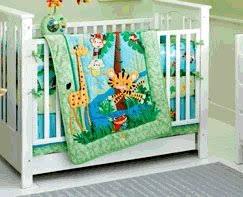 Rainforest Crib Bedding Fisher Price Rainforest Jumping Tiger 4 Crib