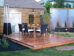 home design backyard deck ideas ground level popular in spaces