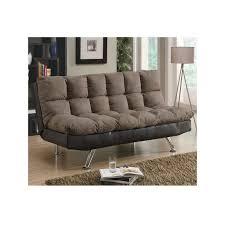 home office futons and sleeper sofas 2 tone plush futon luber