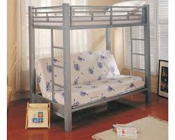 Futon Bunk Bed Frame Only Bunk Bed With Only Top Bunk Coaster Furniture Design