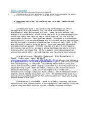business ba2430 international management indiana tech page