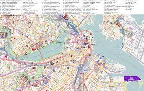 Map Boston City Maps Boston