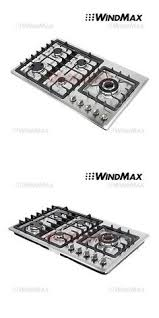 Ebay Cooktop Cooktops 71246 Haier 30 Gas Cooktop With 5 Burners U003e Buy It Now
