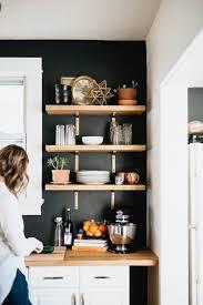Kitchen Shelves Ideas Splendid Ideas Open Wall Shelving Perfect 28 Creative Freshome Com