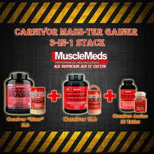 jual paket suplemen carnivor mass terplan gainer susu whey protein
