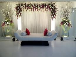 Awesome Simple Wedding Stage Decoration Ideas 95 In Table