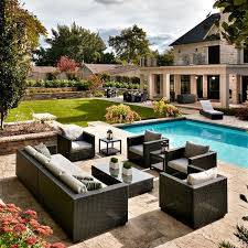 Sunbrella Outdoor Cushions Costco Patio Outstanding Outdoor Table And Chairs Set Discount Outdoor