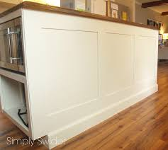 Installing A Kitchen Island by Kitchen Island Panels Home Design Inspiration Pertaining To