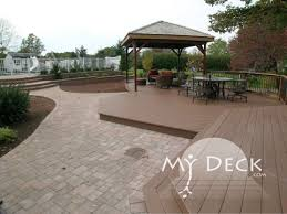 Decks And Patios Designs Patios Walkways Installations My Deck Central New Jersey Area