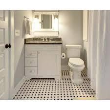Kitchen Backsplash Tile Stickers Glazed Porcelain Mosaic Octagonal Dot Black And White Ceramic