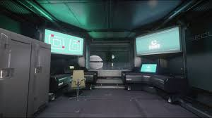 star citizens relaxation kareah security control room youtube