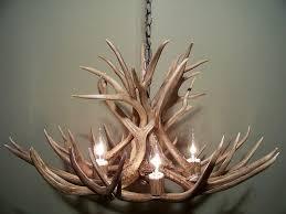 Deer Antler Light Fixtures Discount Colorado Antler Chandelier Free Shipping