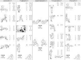 work out plans for men at home great 7day workout program for bodybuilding bodybuilding