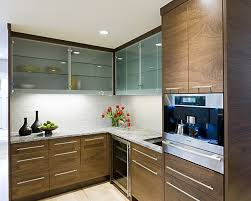 kitchen cabinet doors with glass panels 8 beautiful ways to work glass into your kitchen cabinets