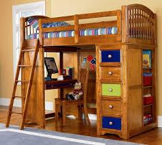 Bed And Desk Combo Furniture Bunk Bed Desk Combo Modern Bunk Beds Design