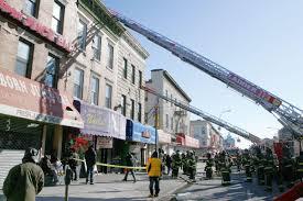 salon sizzle fire erupts above flatbush nail shop u2022 brooklyn daily