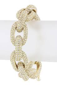 crystal chain link bracelet images The princess kate chunky crystal encrusted chain link bracelet jpg