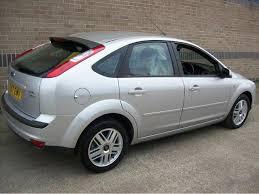 used ford focus tdci used ford focus 2007 diesel 2 0 tdci ghia 5dr hatchback silver