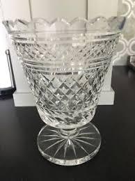 Vintage Waterford Cut Glass Crystal Vase Starburst Pattern Antique Crystal Vase Ebay