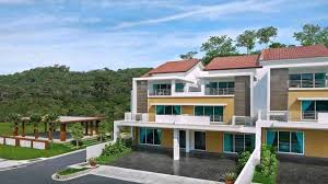 semi detached house exterior design in malaysia youtube