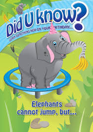 did u know cards did u know limited animal fun facts