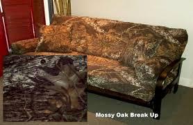 mossy oak on futon