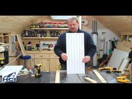 How To Make Shaker Style Cabinets How To Make Shaker Style Cabinet Doors With Beadboard Panels Youtube