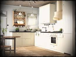 kitchen ideas from ikea an white country kitchen with black worktopsbined oven