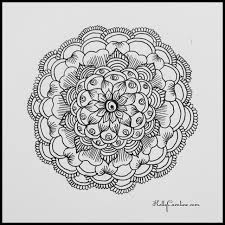 a little mandala practice before my salon appointments tomorrow