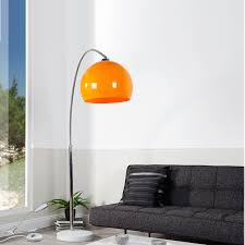 Ebay Esszimmer Lampe Big Bow Retro Design Lampe Dimmbar Orange Lounge Stehlampe