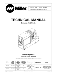 miller electric aead 200 le user u0027s manual