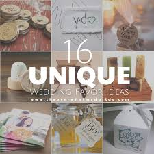 unique wedding favor ideas unique wedding favor ideas the overwhelmed