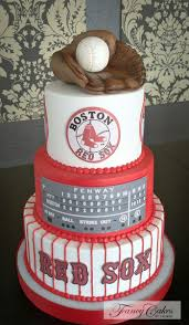 54 best boston red sox cakes images on pinterest red sox cake