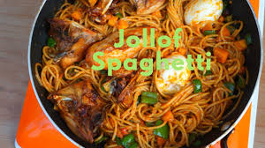2580 Best Foodie In Lagos How To Spaghetti Jollof Healthier Version
