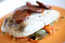 cuisiner le merou mérou rôti poivron confit et coulis de tomate la cuisine de fabrice