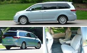 2015 Toyota Sienna Interior 2015 Toyota Sienna U2013 Review U2013 Car And Driver