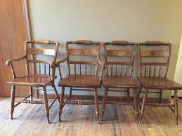 farmhouse chairs l hitchcock set of 4 chairs hitchcock or