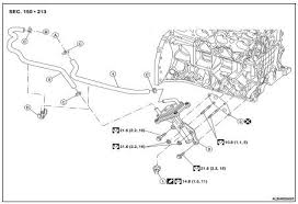 nissan altima 2007 2012 service manual oil cooler on vehicle