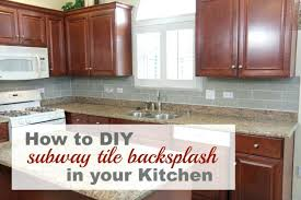 how to put up tile backsplash in kitchen diy tile backsplash marble subway tile install glass tile backsplash