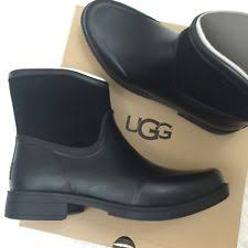 ugg s madelynn boots black ugg australia flat 0 to 1 2 in rainboots boots for ebay