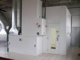 air makeup unit converting 98 fuel into heat