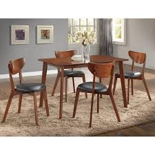 Table Furniture Black Dining Room Chairs White Kitchen Table And