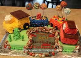 coolest choo choo train cake