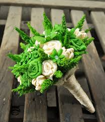green corn husk bouquet centerpiece home decor