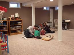 Easy Basement Wall Ideas Decorations Best Finishing Basement Wall Ideas With Home