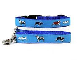 australian shepherd neck size amazon com australian shepherd collar u0026 leash pet leashes