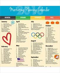10 planning calendar template 10 free word pdf format