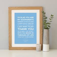 personalised u0027godmother godparent godfather u0027 gift by hope and love